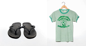 Two of the clothing items featured in <em>Worn Stories</em>.