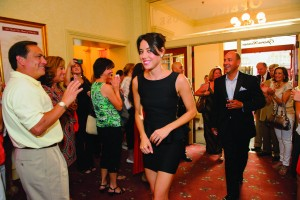 Aubrey Plaza at the Wilmington premier of Safety Not Guaranteed at the Grand. (Photo by Joe del Tufo)
