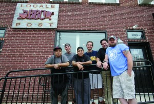 Locale BBQ Post in Wilmington, Monday, Sept. 21, 2015. (Photo by Tim Hawk)
