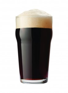 English Stout Isolated with clipping path