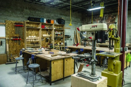 """The NextFab community brands itself as a """"gym for innovators."""" (Photo courtesy of NextFab)"""