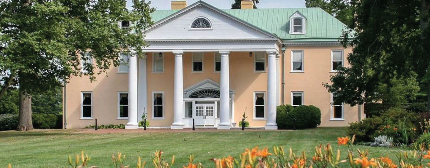 Bellevue Hall mansion will be open for tours during the anniversary event. (Photo courtesy of Delaware State Parks)