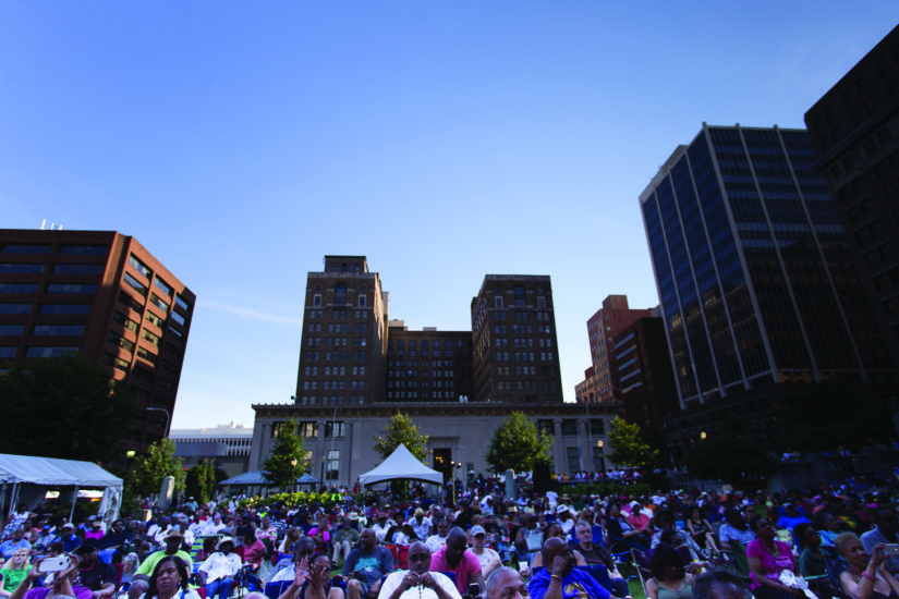 Last year's DuPont Clifford Brown Jazz Festival. (Photo by Jay Diaz)