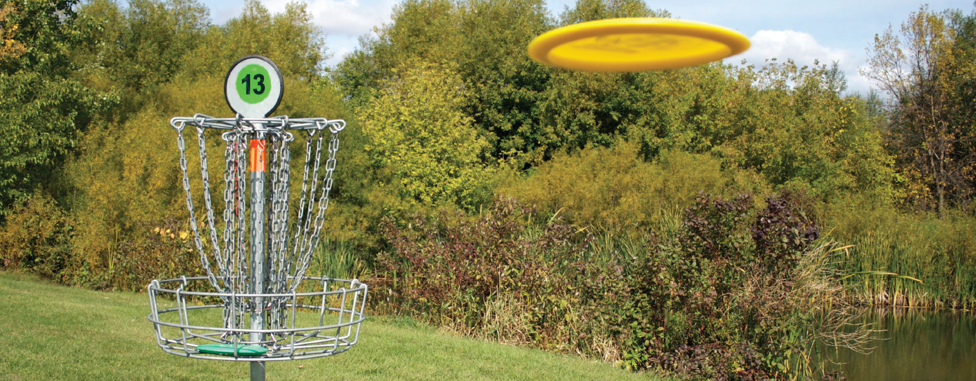 There are seven disc golf courses in New Castle County alone.