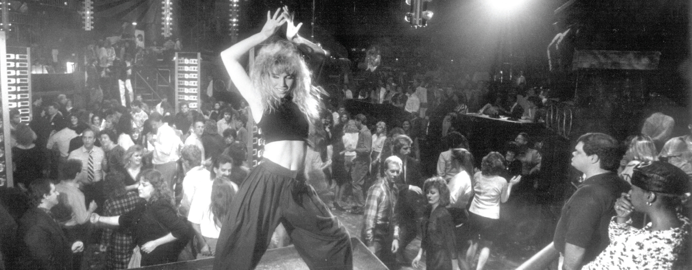 Partying like it's 1988. Pulsations was the place to be in the late 1980s, and Out & About was there. (O&A file photo/Lindsay Rudney duPhily)