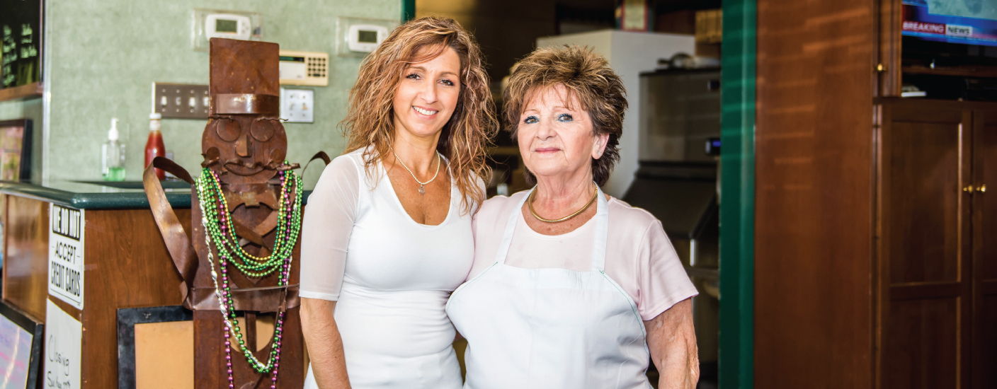 Maria Perdikis and her daughter, Petula, worked long shifts to keep the diner afloat.