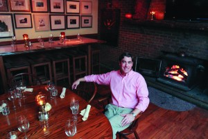 Bradley's credentials includes the Philadelphia Restaurant School, the renowned Suzanna Foo's, and years as a sommelier.