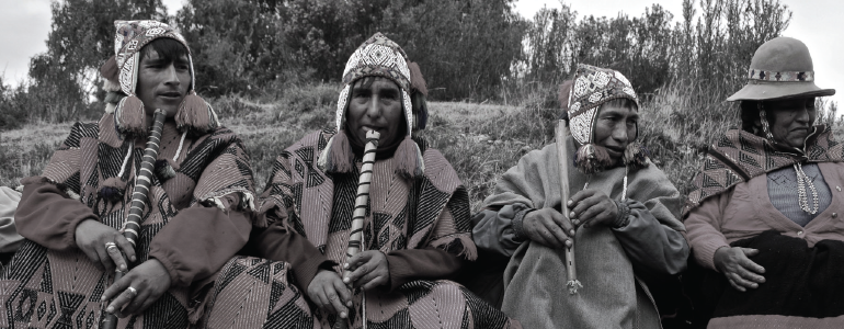 The Travel Songs Project tells the story of the Q'eros people of the Andean Highlands of Peru. (Photo provided by Travel Songs)