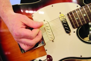 awing playing a Fender Telecaster with Zexcoil Pickups.