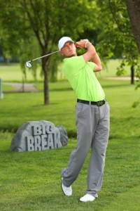 Michael Tobiason, new pro at Deerfield, was a qualifier for the 2011 U.S. Open. (Photo provided by Deerfield)