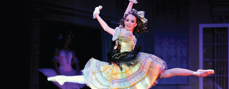 Coppélia is considered one of the greatest comic ballets of the 19th century. (Photo provided by the First State Ballet)