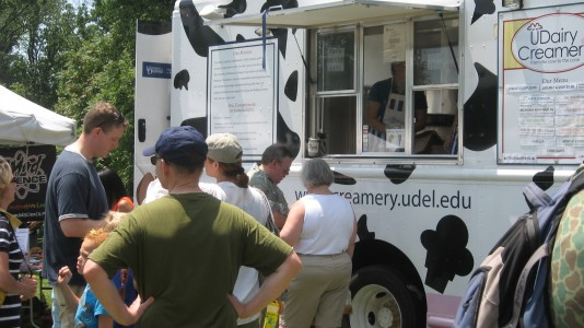 University of Delaware's UDairy Creamery will be back this year to defend its Best Sundae on Sunday title. (Photo by Sachi Kaskel)