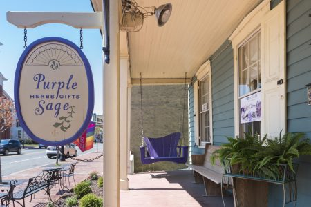 The Purple Sage boutique has been a Main Street fixture since 2005.