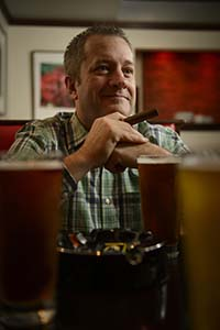 Joe Van Horn, owner of Chelsea Tavern. (Photo by Joe del Tufo/Moonloop Photography)