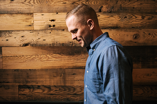 Brian Ashby, owner of 8th & Union Kitchen, says the restaurant's reclaimed wood decor likely came from a tobacco factory. Photo David Norbut