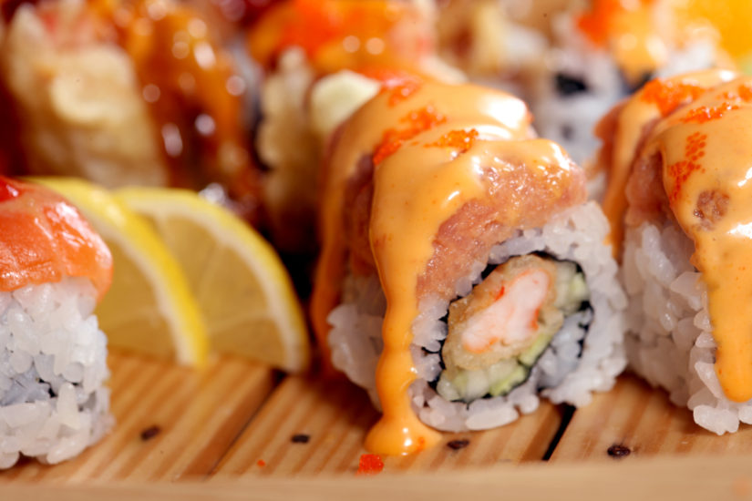 Back Creek Roll at Klondike Kate's made by Sushi Sumo. (Photo courtesy of Klondike Kate's)
