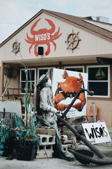 Wiso's Crabs & Seafood has been a Delaware City mainstay since the 1980s. (Photo by Krista Connor)
