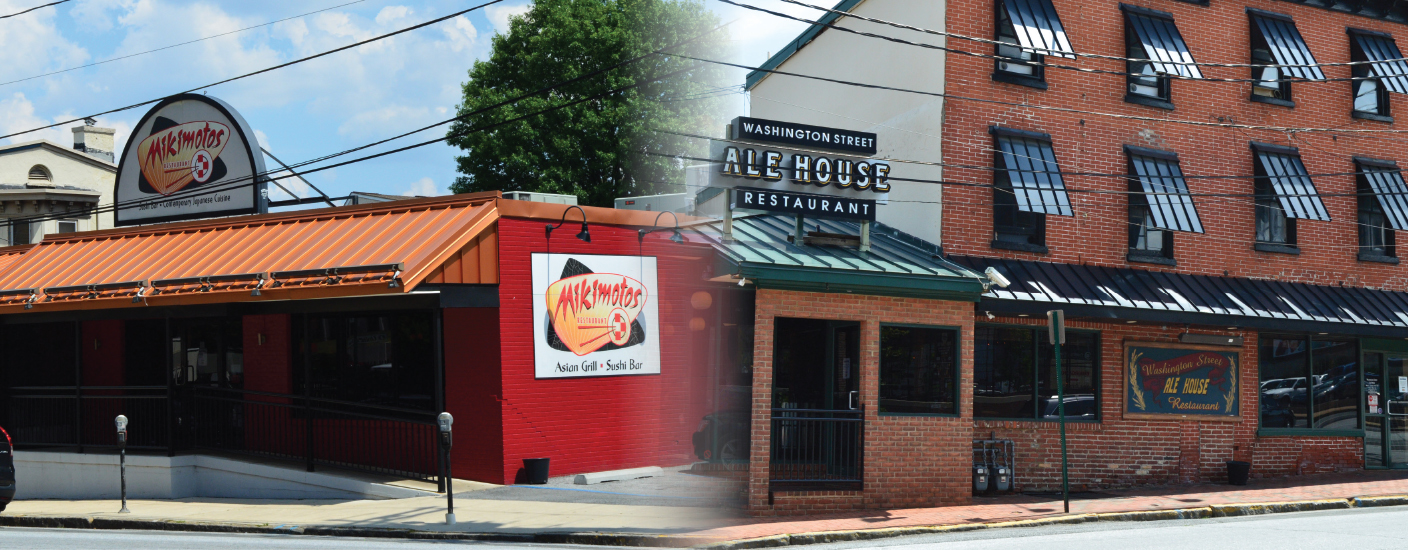 Mikimotos and Washington Street Ale House are now owned by Big Fish Restaurant Group. Photos Krista Connor