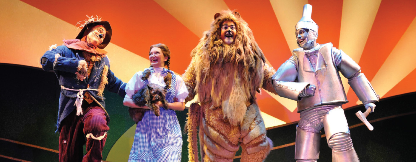 The Wizard of Oz is coming to The Playhouse Nov. 14-19. Photo courtesy of The Playhouse on Rodney Square